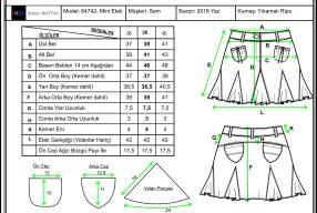 Hazır Giyim Sektöründe Teknik Föy Hazırlama